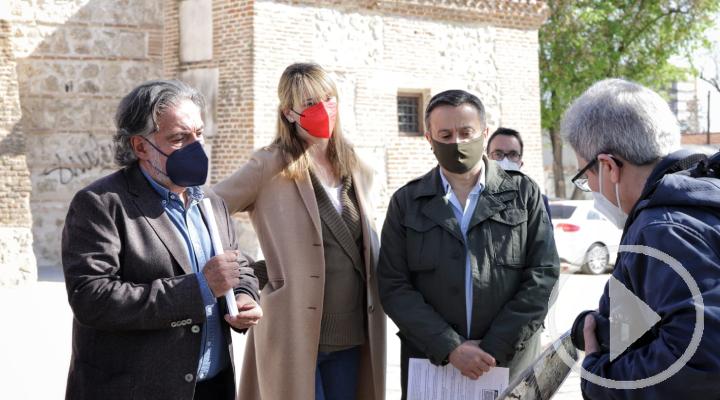 El PSOE denuncia el abandono de la Ermita de Santa María la Antigua