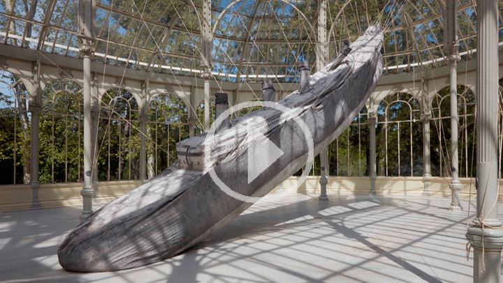 Un recorrido por la nueva muestra del Reina Sofía: El cohete y el abismo en el Retiro