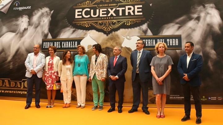 'Ecuextre', la Feria del caballo y el toro de Badajoz