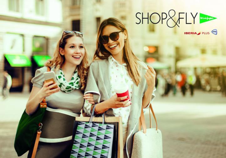 El Corte Inglés inicia con Iberia su programa Shop&Fly para viajeros internacionales