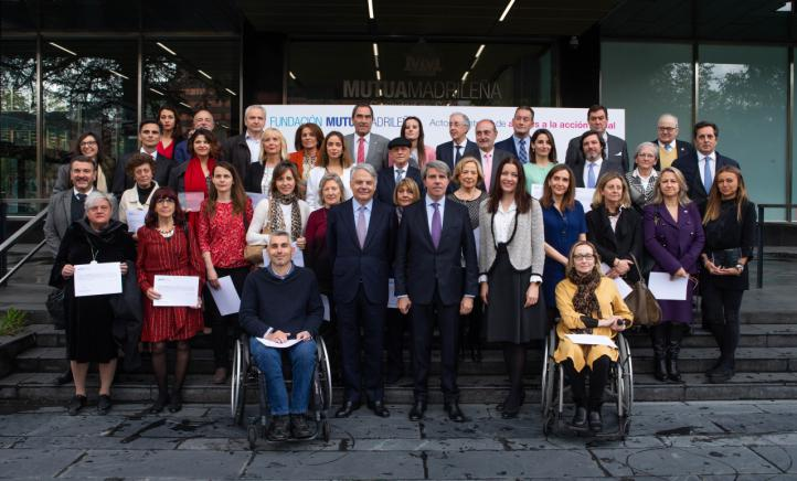 La Fundación Mutua Madrileña concede cerca de 900.000 euros a 37 proyectos de acción social