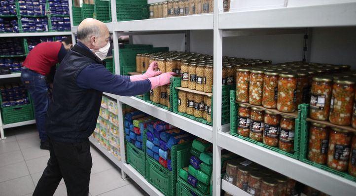 El Banco de Alimentos recoge 1,3 millones de kilos de alimentos en 15 días