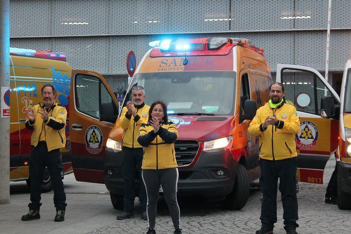 El SAMUR finaliza las labores de apoyo en Segovia