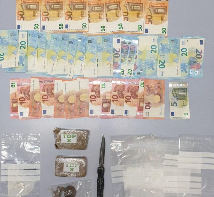 Detenidas dos personas relacionadas con un local de venta de drogas en Getafe