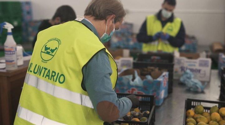 El Banco de Alimentos en Mercamadrid aumenta un 30% su actividad
