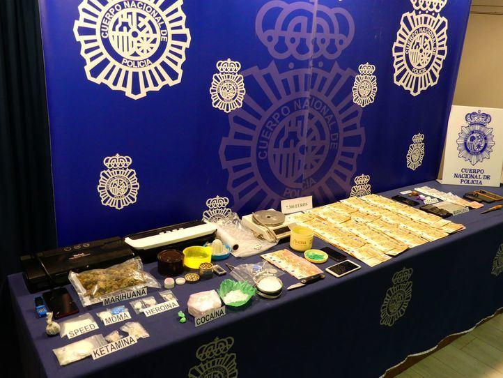 Desarticulado un grupo que compraba drogas en Madrid para distribuirlas en Segovia