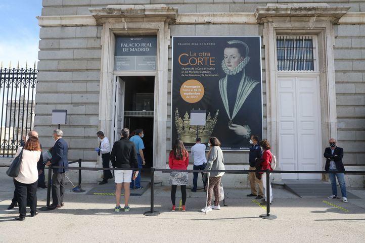 El Palacio Real de Madrid ofrece visitas gratuitas durante cinco días por su reapertura