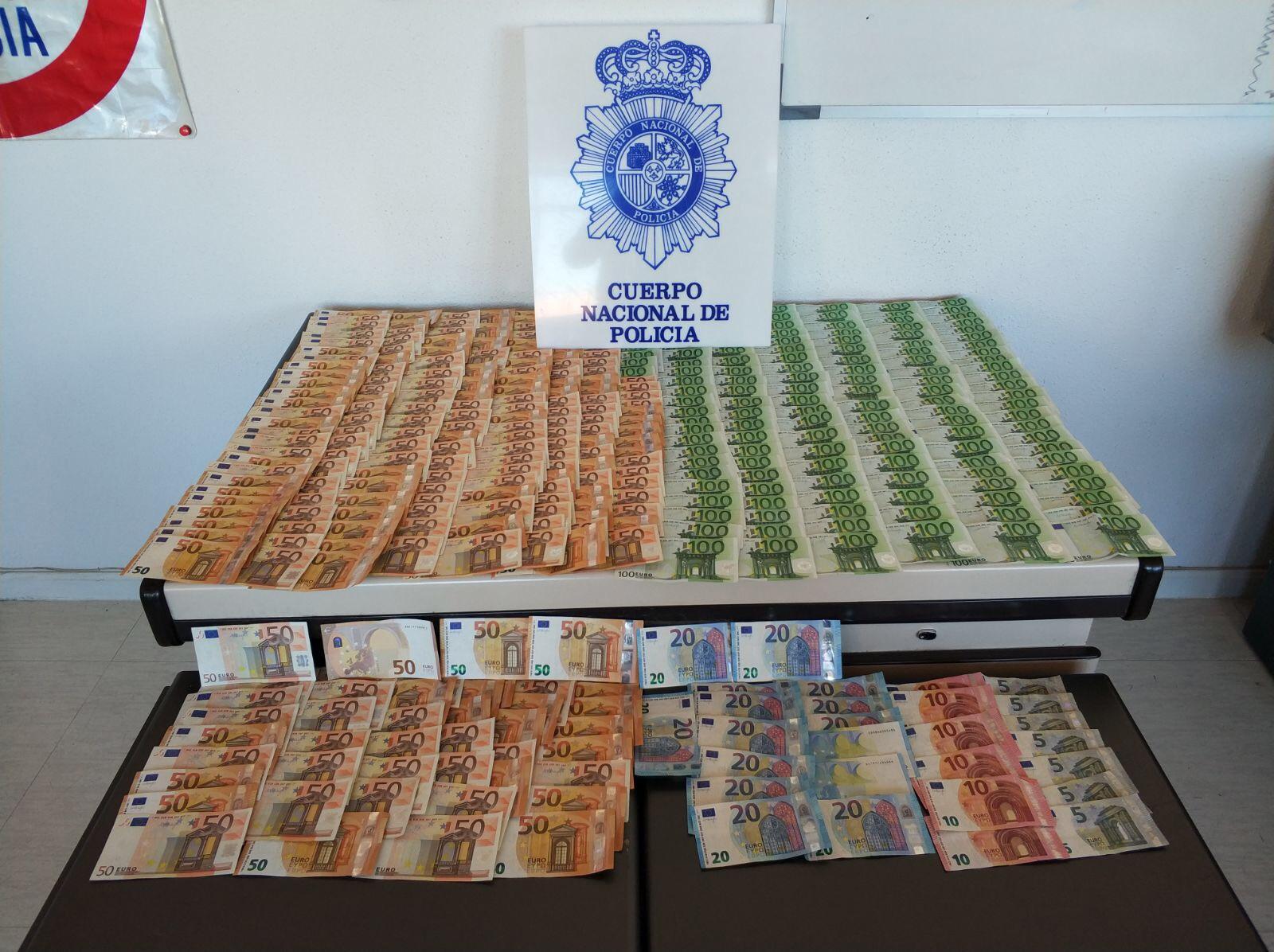 Recuperan piezas ib ricas robadas en gri n por valor de for Piscina municipal moscardo