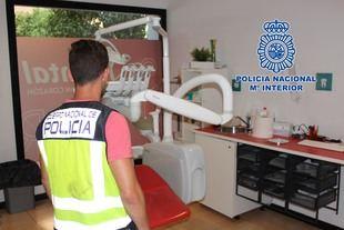 Registros policiales en sedes de iDental.