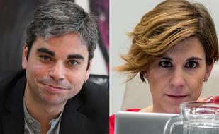 Jorge García Castaño y Sofía Miranda, en Onda Madrid