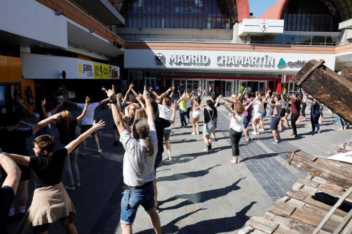 Un baile de bienvenida para Madrid Nuevo Norte