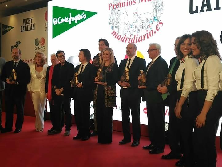 Madridiario entrega sus XV Premios Madrid