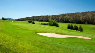 Urturi en Izki Golf, un campo diseñado por Severiano Ballesteros
