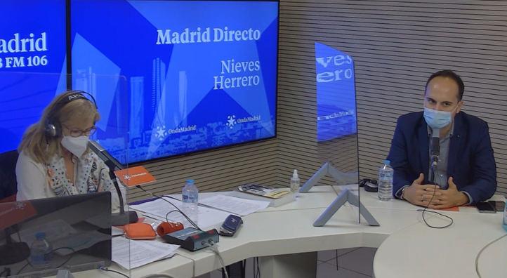 José Manuel Calvo en el estudio de Com.permiso en Madrid Directo