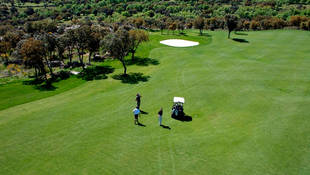 El campo del golf de Los Ángeles de San Rafael, tan divertido como difícil