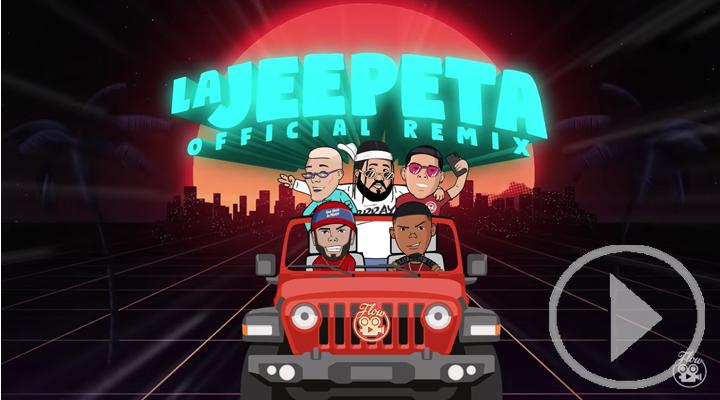 'La Jeepeta (Remix)', la canción más escuchada este verano en Spotify España