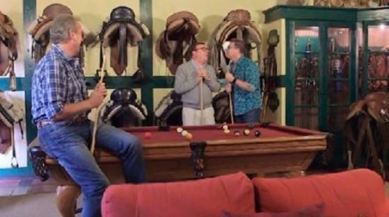Bertin Osborne entrevista a Los Morancos