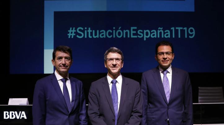 BBVA Research mantiene sus previsiones de crecimiento del 2,4% para España en 2019