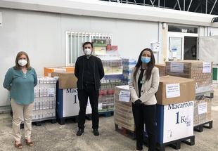 Mercadona dona a Cáritas Sevilla la Nueva casi 4.000 kilos de alimentos de primera necesidad