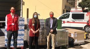 Mercadona dona a Cruz Roja de Móstoles