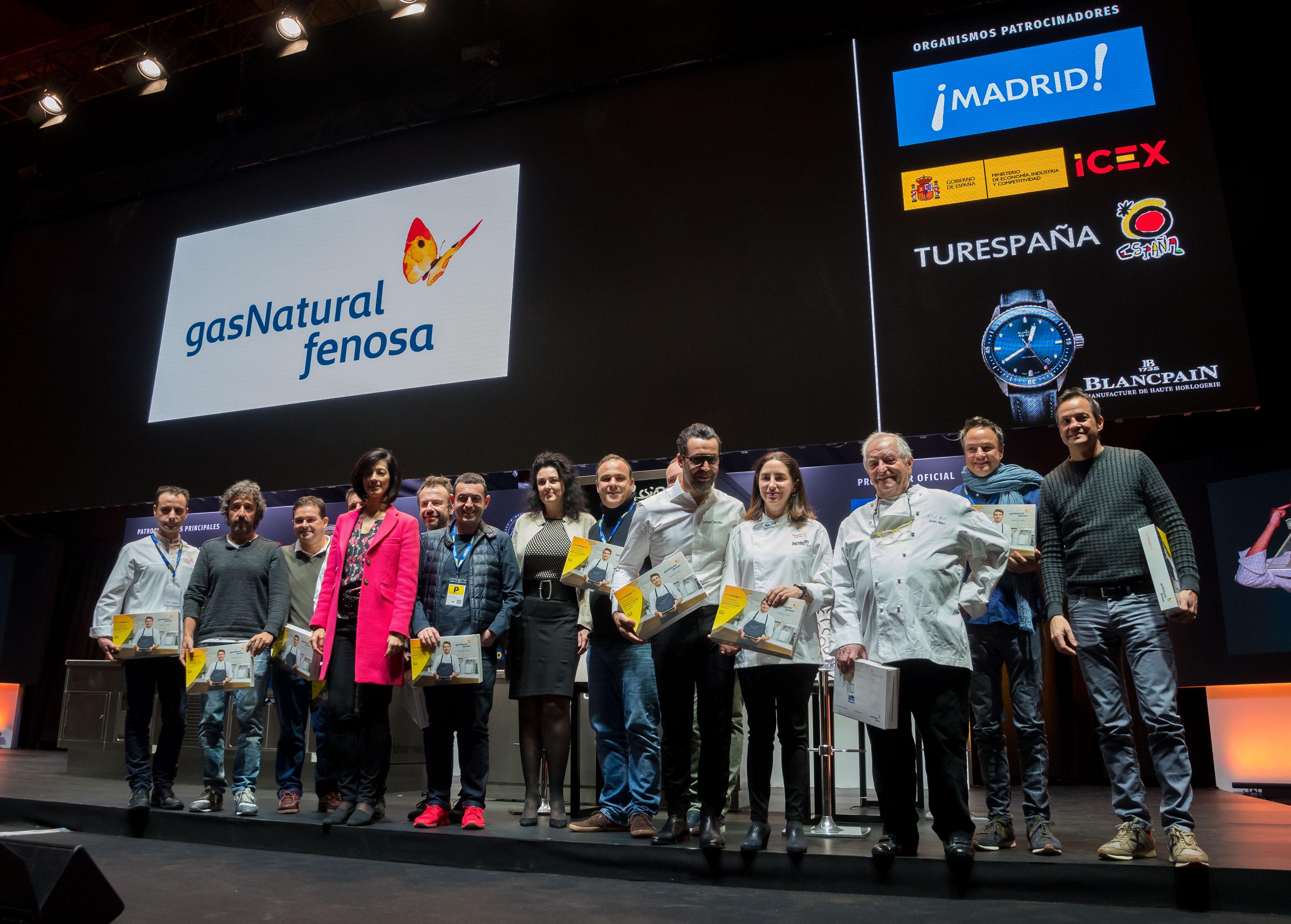 Gas Natural Fenosa lanza el Círculo de Eficiencia Energética, con 31 estrellas michelin españoles