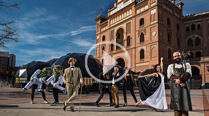 Mahou San Miguel levanta el telón en Madrid para contar sus 125 años de historia