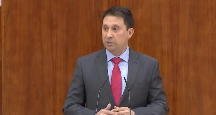 El diputado en la Asamblea Enrique Martínez Cantero anuncia que deja Cs por discrepancias con la dirección
