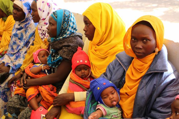 Mejora de la salud infantil en campos de refugiados del Chad