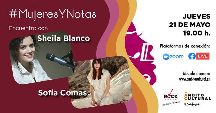 """Sheila Blanco y Sofía Comas """"dan la nota"""" en las redes sociales de Ámbito Cultural de El Corte Inglés"""