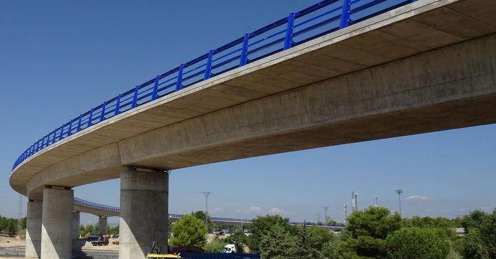 Reabierto al tráfico el viaducto del Nudo de Colmenar