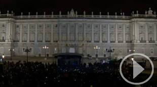 Así se apagó el Palacio Real para encender conciencias