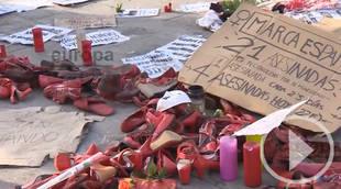 Más de dos semanas en huelga de hambre contra la violencia machista