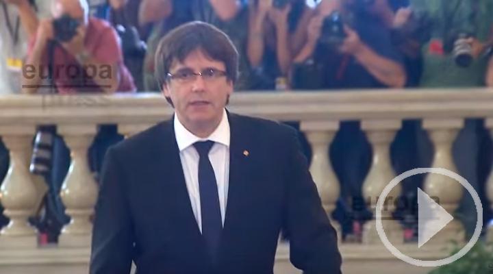 La Fiscalía alemana pide la entrega de Puigdemont
