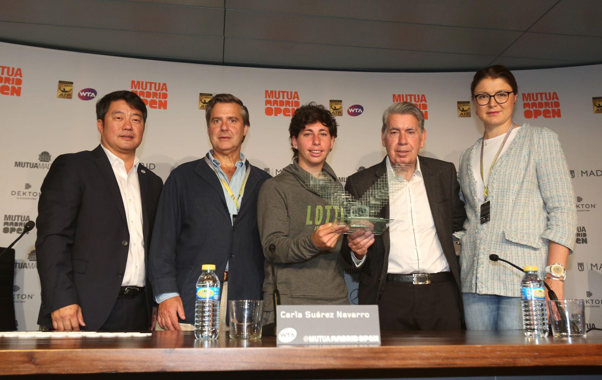 Ecovidrio fabrica los trofeos del Mutua Madrid Open con el vidrio reciclado de los madrileños