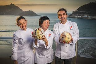 Los cocineros responsables de los restaurantes 'Les Cols' y 'Culler de Pau'