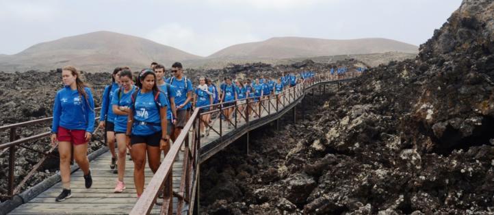 Ruta Siete abre el plazo para seleccionar a 45 jóvenes que recorrerán las Islas Canarias