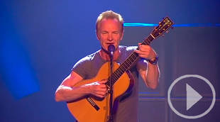 Sting maravilla en su primer concierto en el Teatro Real