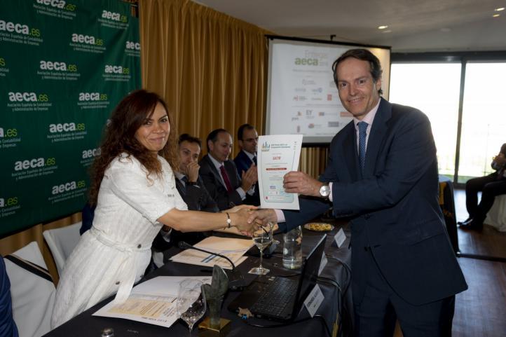 Sacyr, Accésit de los Premios Aeca en Transparencia Empresarial