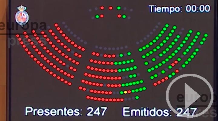 PP veta en el Senado la senda de déficit del Gobierno