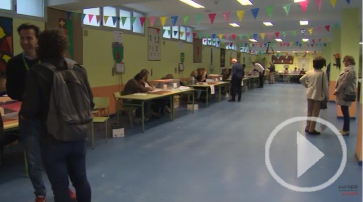 37 millones de personas podrán ejercer su derecho al voto en España este domingo