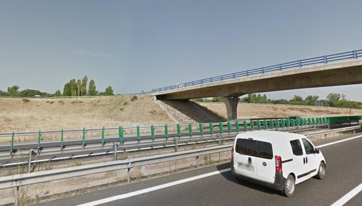 El accidente se produjo a la altura del kilómetro 36 de la A-1