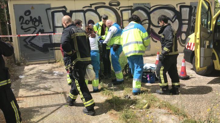 Herido grave al electrocutarse en San Sebastián de los Reyes