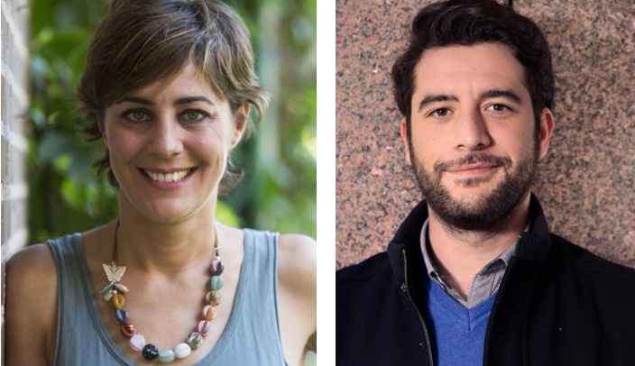 Lorena Ruiz-Huerta y César Zafra