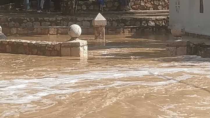 Villar del Olmo, otro municipio inundado por el desbordamiento del arroyo de la Vega