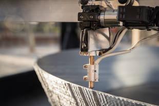 Una impresora 3D construye en Alcalá la Estrella de la Muerte