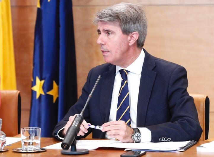 Ángel Garrido, este martes
