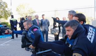 Cursos de autoprotección ante ataques terroristas para policías locales