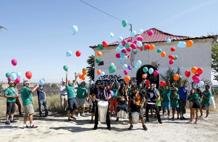 Fiesta en Fuencarral para celebrar la aprobación inicial de Madrid Nuevo Norte