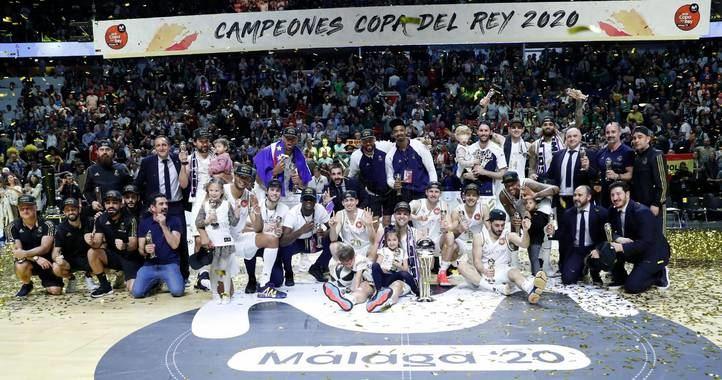 El Real Madrid arrasa en la Copa del Rey de Baloncesto