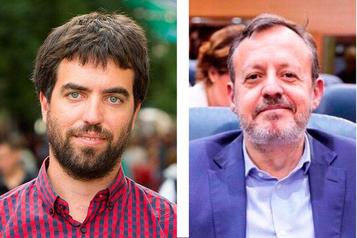 Hugo Martínez Abarca y Alberto Reyero